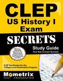 CLEP US History I Exam Secrets Study Guide