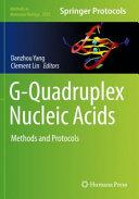 G Quadruplex Nucleic Acids Book