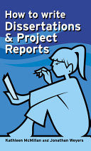 How to Write Dissertations   Project Reports