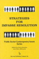 Strategies For Impasse Resolution
