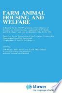 Farm Animal Housing And Welfare Book PDF