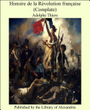Histoire de la R_volution franaise (Complate) [Pdf/ePub] eBook