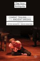 Pdf Combat Trauma and the Ancient Greeks