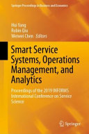 Smart Service Systems, Operations Management, and Analytics