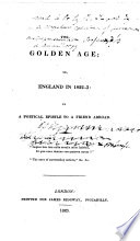 The Golden Age  Or  England in 1822 3