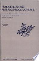 Homogeneous and Heterogeneous Catalysis Book