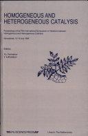 Homogeneous and Heterogeneous Catalysis