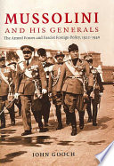 Mussolini and His Generals Book