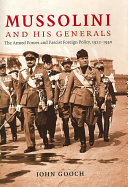 Mussolini and His Generals