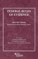 Federal Rules of Evidence 2016