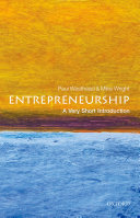 Pdf Entrepreneurship: A Very Short Introduction Telecharger