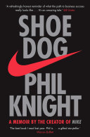 book cover image shoe dog