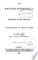The K Haunie Kineh Walla Or Eastern Story Teller