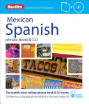 Berlitz Mexican Spanish Phrase Book   CD