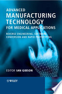 Advanced Manufacturing Technology for Medical Applications