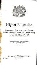 Higher Education  The demand for places in higher education
