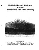 Field Guide and Abstracts for the NAGT FWS Fall 1993 Meeting
