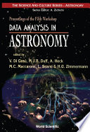 Data Analysis In Astronomy Proceedings Of The Fifth Workshop