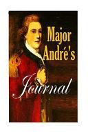 Major Andre's Journal