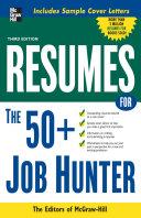 Resumes for 50+ Job Hunters