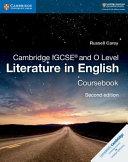 Books - New Cambridge IGCSE And O Level Literature In English Coursebook | ISBN 9781108439916