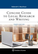 Pdf Concise Guide to Legal Research and Writing Telecharger