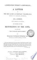 The Prophetic Promise Of The National Restoration Of The Jews To Palestine A Reply To W W Ewbank S Speech Entitled The National Restoration Of The Jews To Palestine Repugnant To The Word Of God  Book PDF