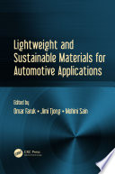 Lightweight And Sustainable Materials For Automotive Applications Book PDF