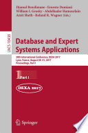 Database and Expert Systems Applications Book