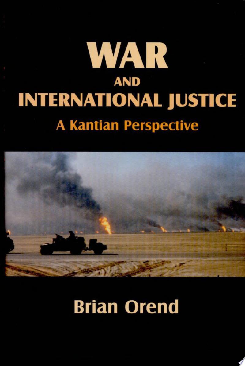 War and International Justice banner backdrop