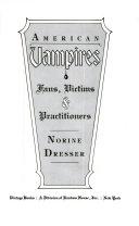 American Vampires Book