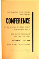 Semi annual Conference of the Church of Jesus Christ of Latter Day Saints