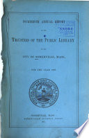 Annual Report Of The Trustees Of The Public Library