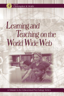 Learning and Teaching on the World Wide Web