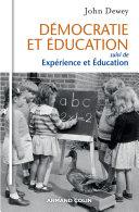 Démocratie et éducation Pdf/ePub eBook