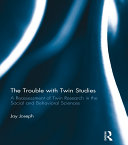The Trouble with Twin Studies Pdf/ePub eBook