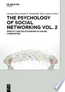 The Psychology of Social Networking Vol.2