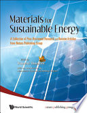 Materials for Sustainable Energy