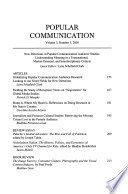 New Directions in Popular Communication Audience Studies