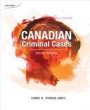 Canadian Criminal Cases