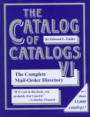 The Catalog of Catalogs