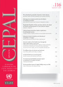 CEPAL Review No 116  August 2015