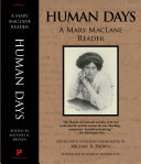 Human Days  A Mary MacLane Reader