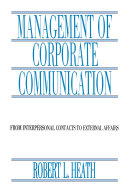 Management of Corporate Communication