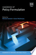 Handbook Of Policy Formulation