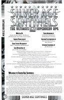 Silver Age Sentinels   the Ultimate D20 System Superhero RPG