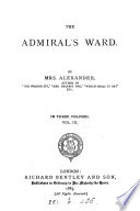 The admiral s ward  by mrs  Alexander Book