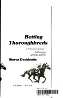 Betting Thoroughbreds