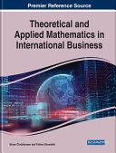 Pdf Theoretical and Applied Mathematics in International Business Telecharger