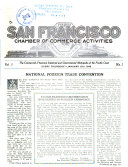 San Francisco Chamber of Commerce Activities